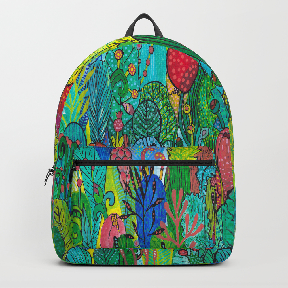 Kingdom Of Plants Backpack by Acheartist BKP7252598