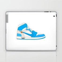 "N I K E AIR JORDAN THE 10: AIR JORDAN 1 ""OFF-WHITE"" Blue Laptop & iPad Skin"