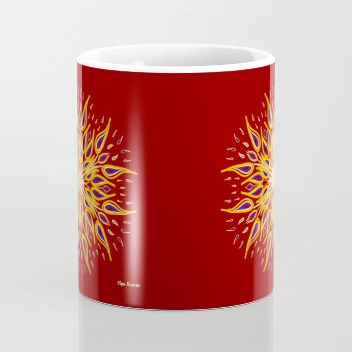 Gallardía y Coraje que Anuncia el Amanecer Coffee Mug
