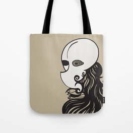 Face of a Stranger Tote Bag