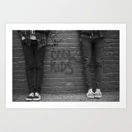The Cool Kids Art Print