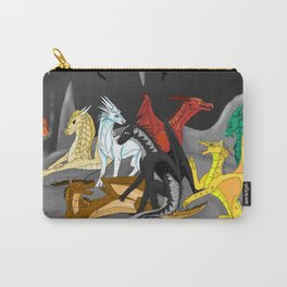 Dragon Wings Of Fire Carry-All Pouch