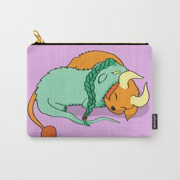 Dinku and Furret Carry-All Pouch
