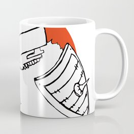 Hack It - Warrior Illustration Coffee Mug