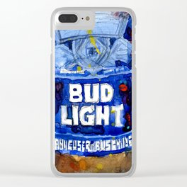 Bud Light - Budwiser American Beer Clear iPhone Case