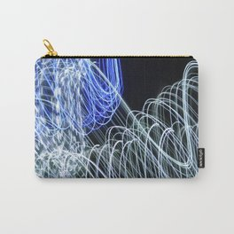 Orange Lillie  Carry-All Pouch