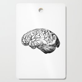 Brain Anatomy Cutting Board