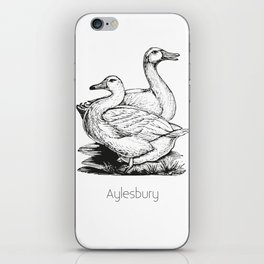 Aylesbury Duck | Animal Art Design iPhone Skin