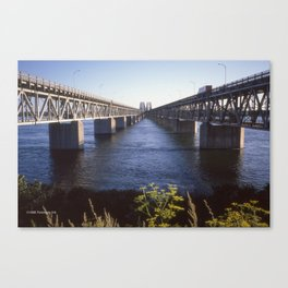 Raid Canada: Honoré-Mercier Bridge Canvas Print