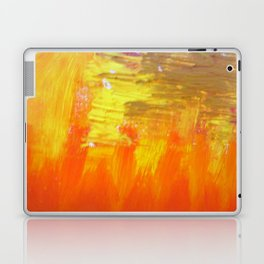Aflood with gold and rose Laptop & iPad Skin