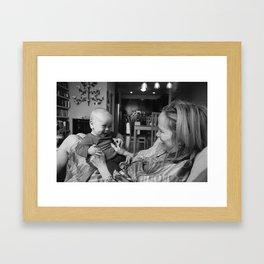 hooray for grandma Framed Art Print