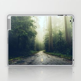 Redwood Forest Adventure - Nature Photography Laptop & iPad Skin