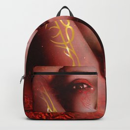 Lost in magma Backpack