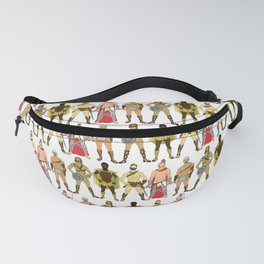 5 Gladiators and Warriors Fanny Pack
