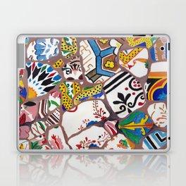 Gaudi tiles Barcelona Laptop & iPad Skin