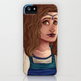 Moiraine Damodred Bust iPhone Case