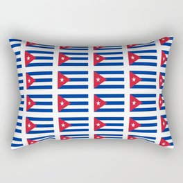 Flag of Chile 2 -Spanish,Chile,chilean,chileno,chilena,Santiago,Valparaiso,Andes,Neruda. Rectangular Pillow