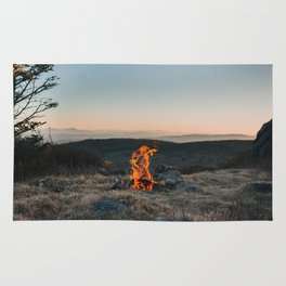 Peaceful Fire Rug