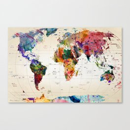 Dinosaur canvas prints society6 map canvas print gumiabroncs Image collections