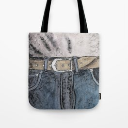 Blue jeans Tote Bag