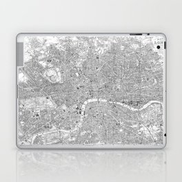 London Old Map Laptop & iPad Skin