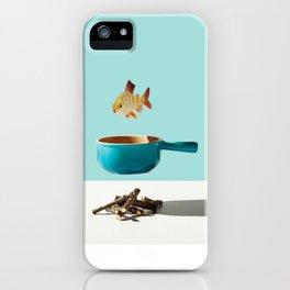 Minimal Food Mix iPhone Case