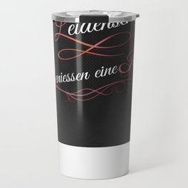 COOKING IS PASSION  Travel Mug