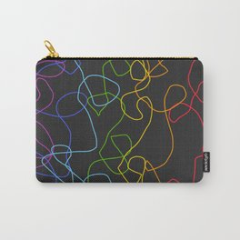 Crooked Lines #2 Carry-All Pouch