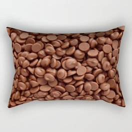 Milk chocolate chips Rectangular Pillow