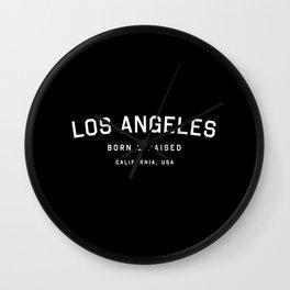 Los Angeles - CA, USA (Arc) Wall Clock