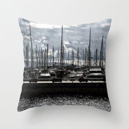 bodrum d-marin Throw Pillow