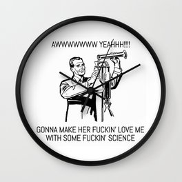 SEXY SCIENCE Wall Clock