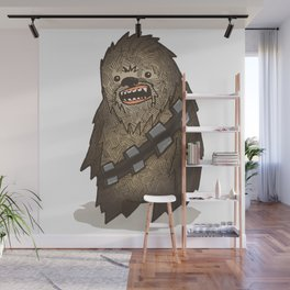 Fat Wars Chewbe Wall Mural