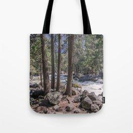 Yosemite Park Sierra Nevada California Tote Bag