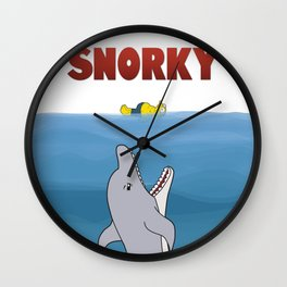Snorky Jaws. Wall Clock