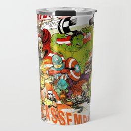 "Avengers Assemble! - a ""you're COLOR"" promo Travel Mug"