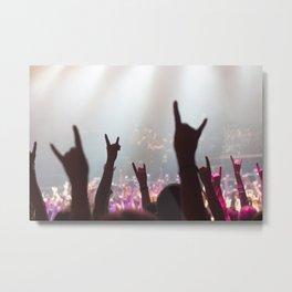 Rock Out Metal Print
