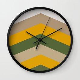 Moraccon chevron Wall Clock