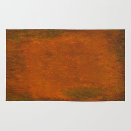 Weathered Copper Texture Rug