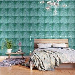 Aqua Bubble Wrap Wallpaper