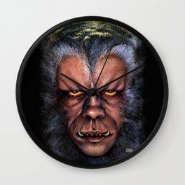The Werewolf Curse Wall Clock