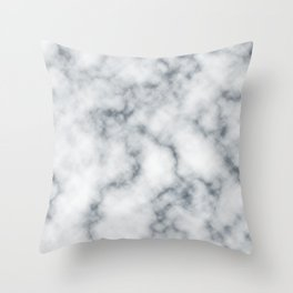Marble Cloud Throw Pillow