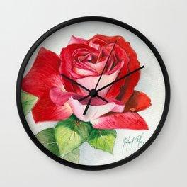 Rose 4 Wall Clock