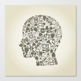 Head medicine Canvas Print