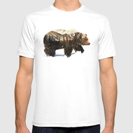 Arctic Grizzly Bear T-shirt
