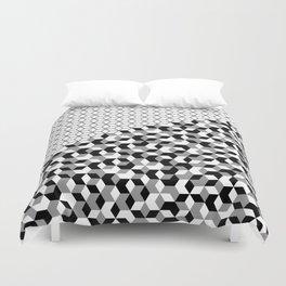 Hexagon(black) #2 Duvet Cover