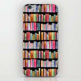 Antique Book Library for Bibliophile iPhone Skin