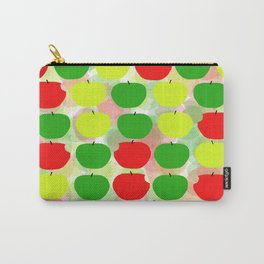 Summer Apple Picking Green, Red and Yellow Carry-All Pouch