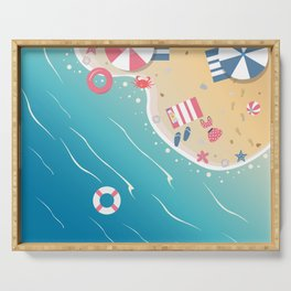 Summer Paradise Serving Tray
