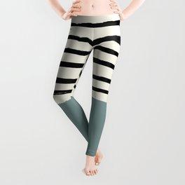 River Stone & Stripes Leggings